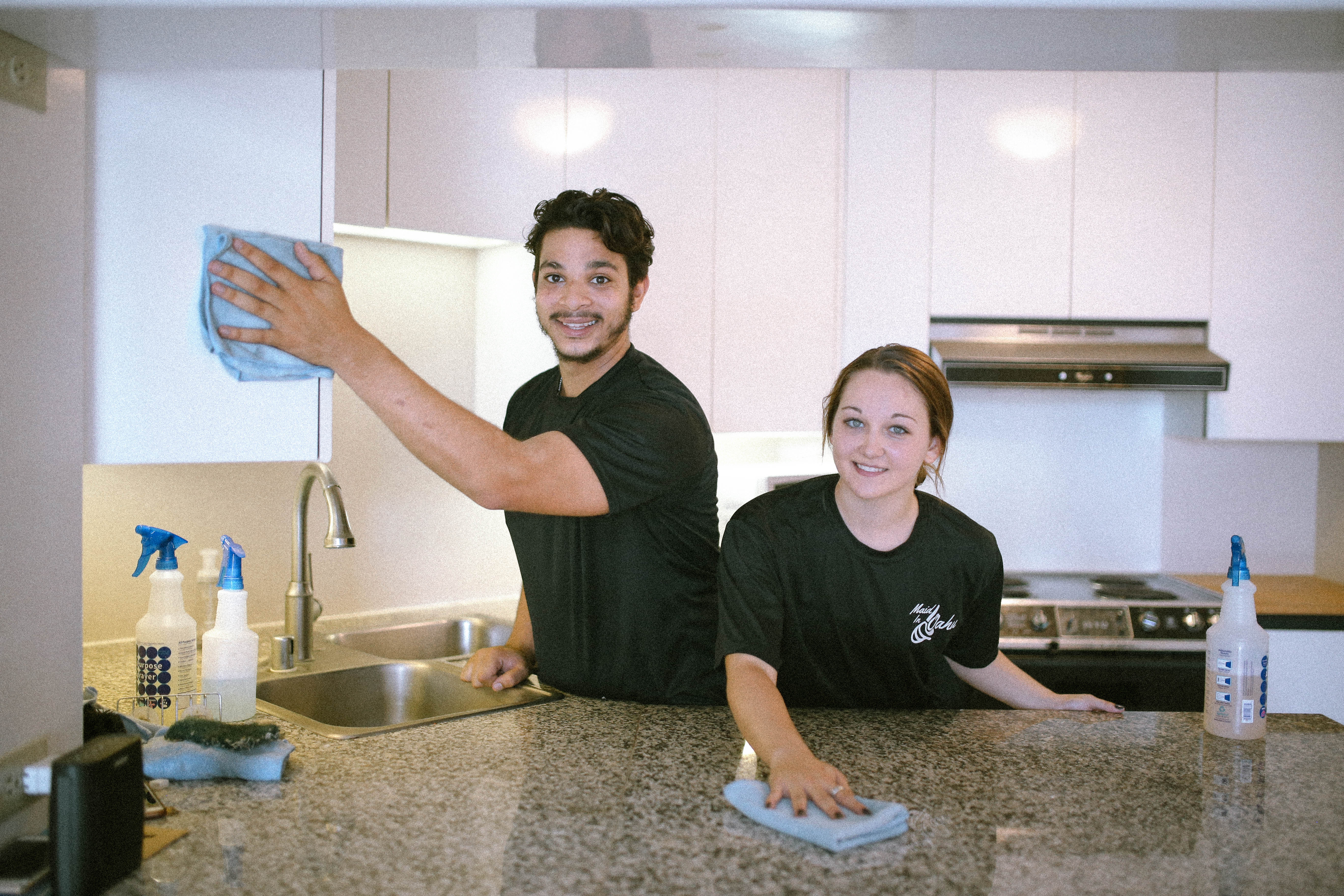 Maid in Oahu cleaning service