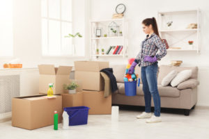What are some reasons to hire a professional move out cleaning service